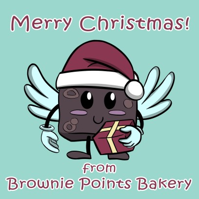Brownie Points 4 - Xmas Borwnie