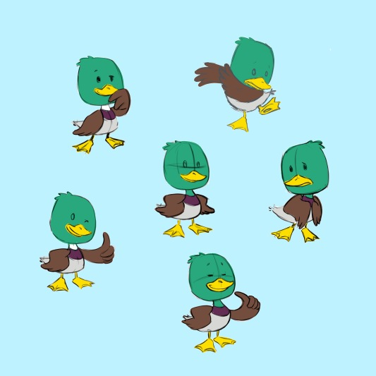 Ugly Duckling 2 poses d